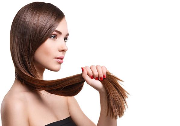 straigh hair