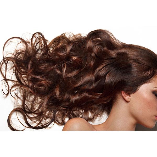 brunette nano ring hair extensions